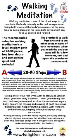 Walking Meditation a Simple 10 minute meditation for relaxation and stress relief Walking Meditation, Meditation Quotes, Chakra Meditation, Mindfulness Meditation, Crystals For Meditation, Meditation For Anxiety, Mindfulness Exercises, Mindfulness Activities, Meditation Space