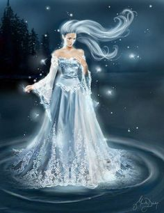 queen of the night;  moon goddess