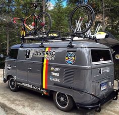 K702, doyoulikevintage: Bike bus vw