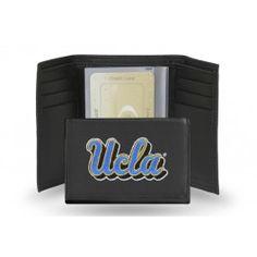 NCAA UCLA Bruins Nylon Trifold Wallet