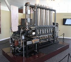 "Steam punk"" difference engine"
