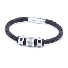 Aagaard Mens Jewelry Leather Bracelet No 1878