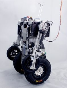 PatrolBots, Jeremy Robbins, Telebots, Urban Warrior Robot, UWR, Florida International University, combat crime, military robot, DARPA, FIU, U.S. Navy Reserves, telepresence robot, bot, Jerry Pratt, Institute for Human and Machine Cognition, IHMC