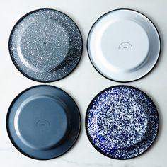 Porcelain Enamelware Nesting Bowls (Sets of Terracotta, Enamel Dishes, Enamel Ware, Vintage Enamelware, Nesting Bowls, Beach Cottage Decor, Christmas Gifts For Men, Stylish Kitchen, Diy Home
