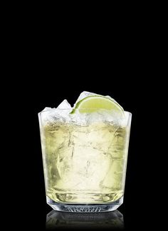 Mock Whiskey - Fill a rocks glass with ice cubes. Add lime juice. Top up with ginger ale. Garnish with lime. 1 Part Lime Juice, Ginger Ale, 1 Wedge Lime
