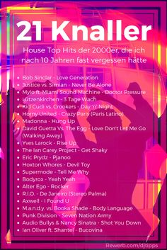 21 House Knaller, die Top Hits der #2000er Jahre  Die besten #House Songs sind, mit denen ich vor zehn Jahren noch jede Party gerockt habe, besitze ich nur auf Vinyl.  Also bin ich meine #Plattenkoffer durchgegangen und habe nach Liedern gesucht, die in den 2000er Jahren außergewöhnlich gut angekommen sind.  Hier findest du meine 2000er-Playliste mit 21 House Knallern, die ich nach 10 Jahren fast vergessen hätte ► http://www.rewerb.com/dj-tipps/house-knaller-2000er-top-hits.html #2000er…