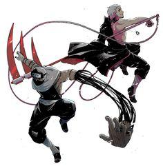 Kakuzu & Hidan!!one is kinda creepy