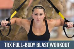 If you haven't yet tried using a TRX Suspension Trainer, you're missing out! This innovative piece of equipment is incredibly versatile and adds the element of instability to constantly engage your core and improve your balance. Fitness pro Riana Rohmann explains how to easily adjust the intensity of a TRX workout and offers four great circuits that are sure to give you a killer workout.