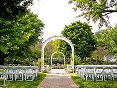 Lewis Ginter Botanical Garden Richmond Va Wedding Site Virginia Weddings 23228