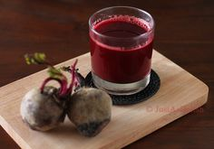 Beetroot Juice to cleanse the gallbladder @Shannon Lim