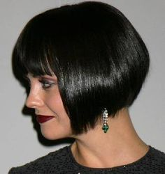 Actress Christina Ricci in a bob