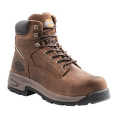 """(Men's Dickies Stryker Steel Toe Boot Full Grain)- I'd like steel toe boots. I don't really think I'd """"need"""" them but having good boots wouldn't be bad. Most I've looked at are either too expensive or ugly or both. I would like something like this"""