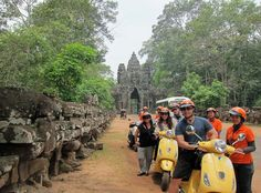We grew up at Angkor. Let us share our heritage with you. This Angkor Wat Tour in Siem Reap will tell a story and give you a real connection to the temples.