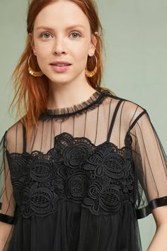 Shop the Laced Mesh Swing Top and more Anthropologie at Anthropologie today. Read customer reviews, discover product details and more.