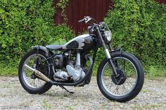 Light Stone Motorcycle / 1949 BSA B33