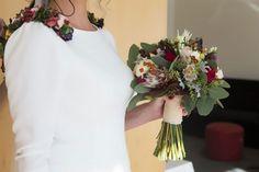 ramos de novia de color