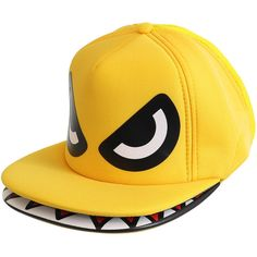 Headwear, designer caps, fashion headwear, emo hats, New Era caps UK ($25) ❤ liked on Polyvore