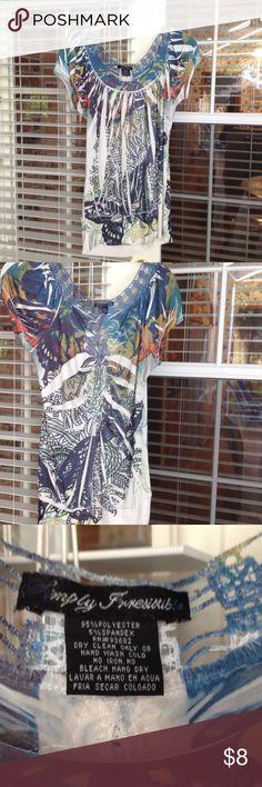 Shirt Polyester shirt Tops