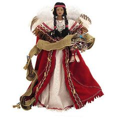 Native American Indian Angel Tree Topper