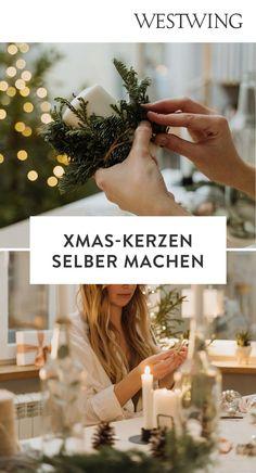 Organische Formen gehören zu den größten Einrichtungstrends des Jahres. Das Besondere an den Twisted Candles: Dank ihrer außergewöhnlichen Silhouette werden sie sofort zum Blickfang in jedem Raum und ähneln fast schon einem Kunstobjekt. Sehr beliebt sind zarte Pastelltöne, aber auch Kerzen mit Farbverlauf im Ombré-Look können sich sehen lassen./Westwing Kerzen DIY Weihnachten Christmas candles selber machen Ideen Kerzenständer Kerze Geschenkidee 2021 Tannenzapfen Deko gestalten Deko Trend Ombre Look, Diy Weihnachten, Accessories, Organic Shapes, New Furniture, Paint Run