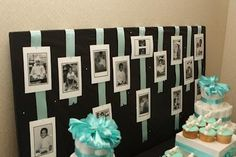 Baby or shower..Pictures of the expecting mother and dad and attendees when they were babies.....