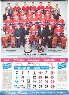 Hockey Collectibles:Others, 1956-69 National Hockey League Canada Issued…