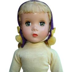 C1951-53 Madame Alexander Kathy Roller Skater Doll with Maggie Face HP 15 Inch