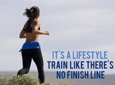 There is no finish line…