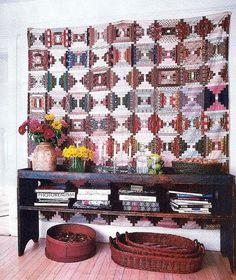antique wall quilt | visit eddieross com