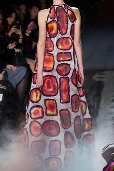 Frank Sorbier at Couture Spring 2015 (Details)