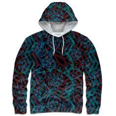 Geometry is cool, cause this hoodie says so.   #shelfies