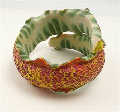 Bracelets by malodora, via Flickr - Polymer Clay