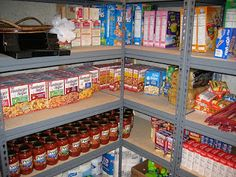 A quick, easy and CHEAP method to get started on a stockpile of groceries for your home. No clipping coupons required!
