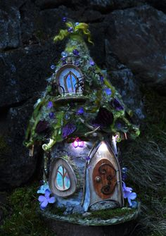 FAERIE HOUSE mini lights at Fort Collins nursery
