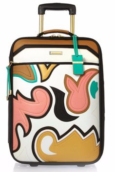 Pin for Later: These 16 Printed Suitcases Are Your Ticket to Travel in Style River Island Womens Brown appliqué suitcase River Island Womens Brown appliqué suitcase River Island Luggage, River Island Bags, Cute Luggage, Luggage Bags, Satchel, Crossbody Bag, Insulated Lunch Bags, Womens Purses, Brown Bags
