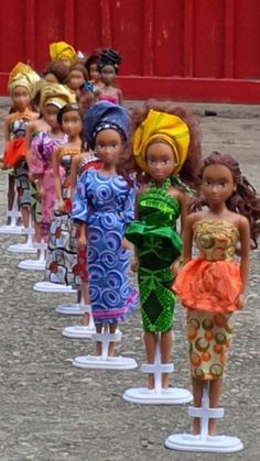 Seven years ago, Taofick Okoya couldn't find a black doll for his niece and decided to make his own. Today, his Queens of Africa doll line is helping change the way African girls see themselves in Nigeria and beyond.