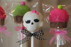 Monster High cake pops