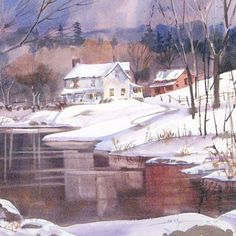 """Joe Miller Art Workshop: Everything You Need to Know about Watercolor, May 30-June 2, 2017, (4 day) - Join our very own """"Cheap Joe"""" Miller in this not to be missed artist workshop that covers """"everything"""" about watercolor painting that you need to know. Joe will briefly review the basics like composition, value, materials, etc. There will be an art demo each day... #ArtEd #LearnToPaint #LearnArt"""