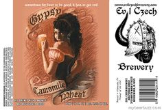 mybeerbuzz.com - Bringing Good Beers & Good People Together...: Evil Czech Brewery - Gypsy Camomile Wheat