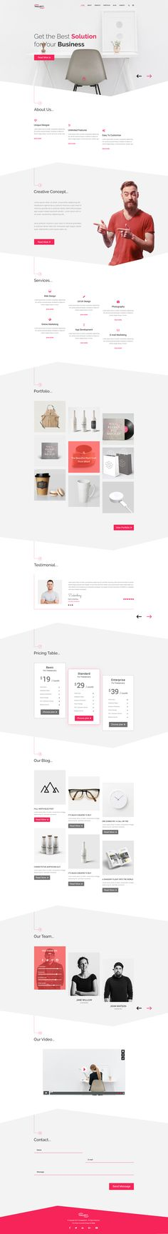 PROJECT - Corporate Business Template • Download ➝ https://themeforest.net/item/project-corporate-business-template/18477436?ref=pxcr