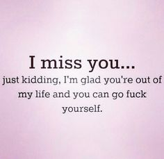 This could not be more accurate for some people that are no longer in my life. I Hate You, I Miss You, Quotes To Live By, Me Quotes, You Broke My Heart, Word Board, Let It Out, Favorite Words, Toxic Relationships