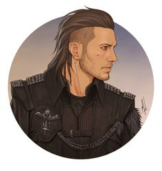 """theashenphoenix: """"Listen, I'm still not over Nyx and this gorgeous portrait isn't helping. By the incomparable - thank you so much! Final Fantasy Characters, Final Fantasy Art, Fantasy Series, Sci Fi Characters, Character Creation, Character Concept, Character Art, Concept Art, Character Design"""