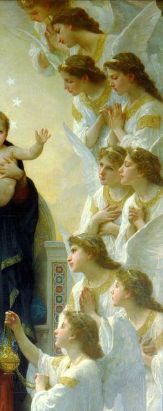 ángeles de William Bouguereau 1