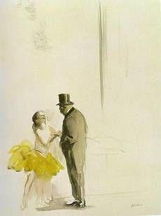 Jean-Louis Forain - Danseuse