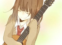Anime girl Music