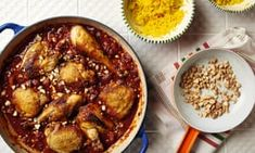 The weekend cook: Thomasina Miers' recipes for a super-simple soufflé and a Spanish chicken casserole How To Cook Chorizo, Cooking Chorizo, Spanish Chicken, Canning Diced Tomatoes, Souffle Recipes, Blanched Almonds, Chicken Casserole, Winter Food, Chicken Recipes