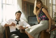 marynabeauty Morning Beauty   Maryna Linchuk & Tom Welling by Steven Meisel (2008)