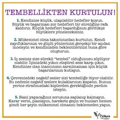 Tembellikten kurtulmanın yolları… Ways to get rid of laziness … Music Theory Piano, Stress Factors, I Can Do It, How To Get, How To Plan, Better Life, Self Improvement, Inspire Me, Personal Development