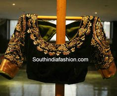 Bridal Saree Blouses ~ Fashion Trends ~ • Page 6 of 29 • South India Fashion