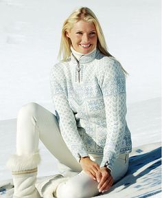 This Dale of Norway sweater is stunning